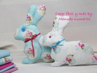 Cómo hacer muñecos de trapo, conejos de trapo