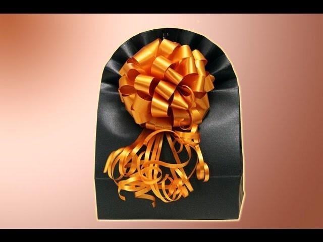 Como Hacer una Bolsa de Regalos How to do a gift box parte 2