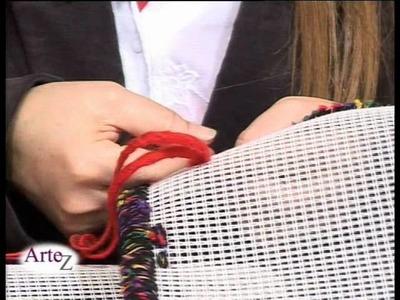 Cómo usar hilados en el diseño de tapices
