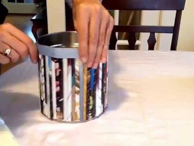 Cosas que se pueden hacer con latas de conserva
