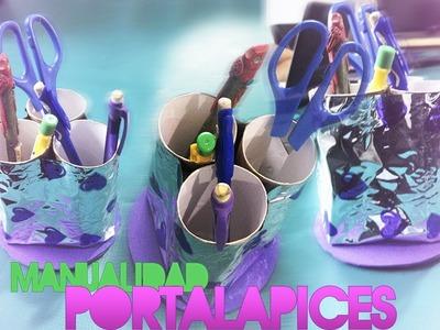 DIY: Portalapices con material reciclado. 2014