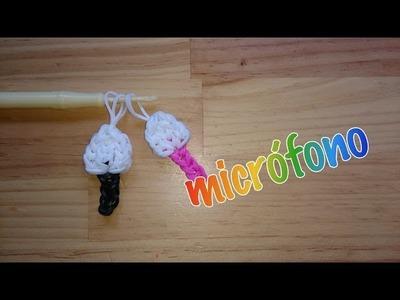 Micrófono de gomitas con telar