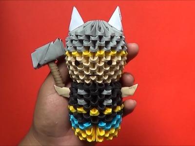 Origami 3D Mini Thor