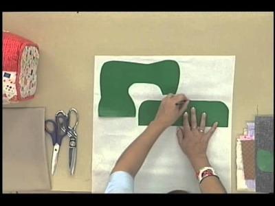 Sonia Franco. Programa Nuestra Casa. Cubre Máquina con aplicaciones 1.5