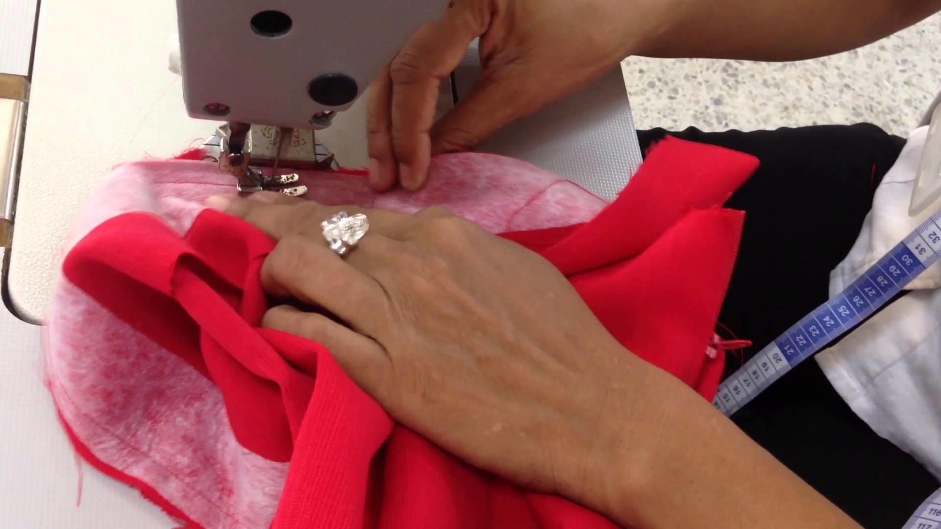 Tercer Video Trazo, corte y confección de la falda clásica   SENA ATLANTICO