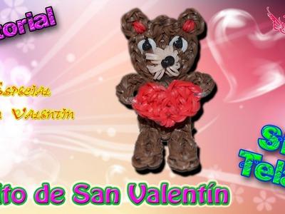 ♥ Tutorial: Osito de San Valentín de gomitas (sin telar) ♥