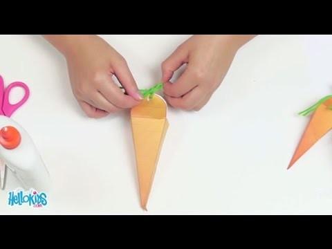 Zanahoria sorpresa de Pascua (Hellokids)