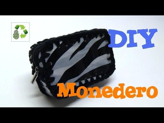 74. DIY MONEDERO (RECICLAJE DE BOTELLAS PLÁSTICAS)
