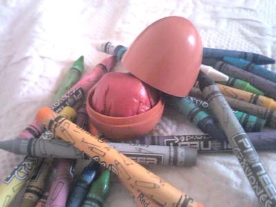 ¡Has tu propio EOS lipbalm a partir de crayones!