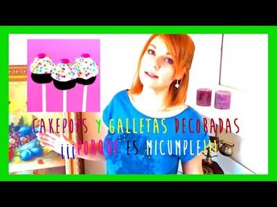 Cakepops de oreo sin horno y galletas decoradas, ideas fáciles para cumpleaños