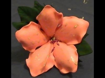 Como hacer la flor Azalea en goma eva