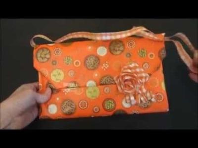 Cómo hacer un envoltorio de regalo para chica. Gift wrapping for girl.
