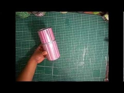 Como hacer un estuche reciclando latas