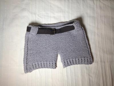 Cómo tejer unos shorts con telar (Tutorial DIY)