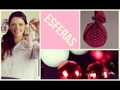 Crea tus propias esferas de Navidad | DIY Esferas navideñas Originales fáciles y rápidas