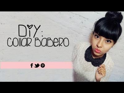 DIY: Collar Babero