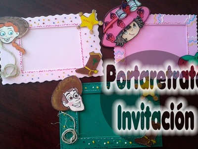 DIY-PORTARETRATO EN FOMY RAPIDISIMO
