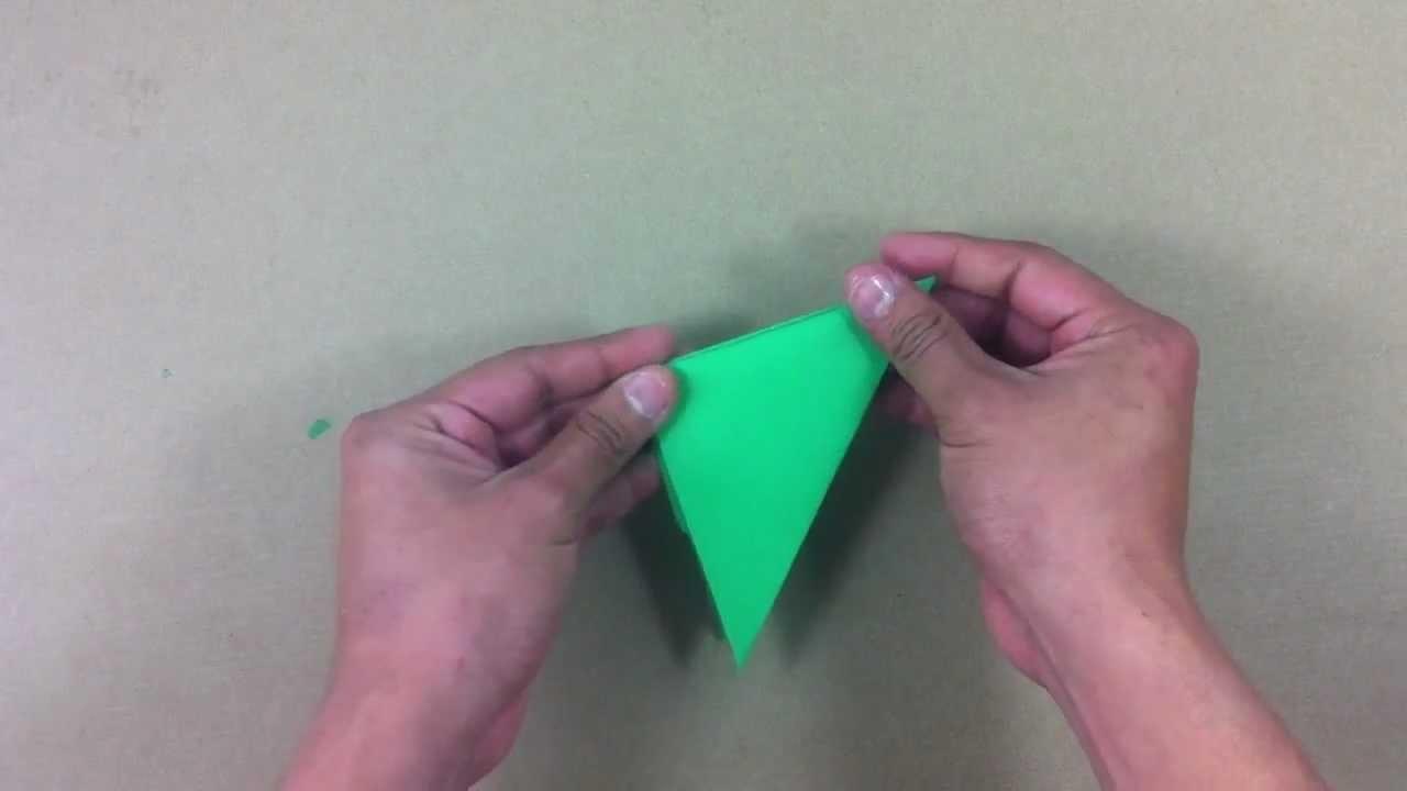 Hacer un tronador de papel - Juego de origami para niños