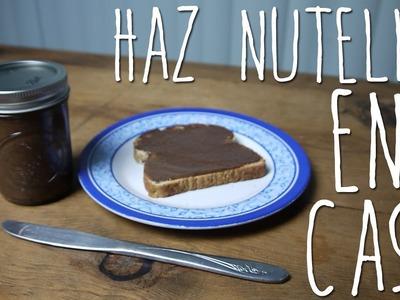 HAZ NUTELLA EN TU CASA | @CELLEGRINI