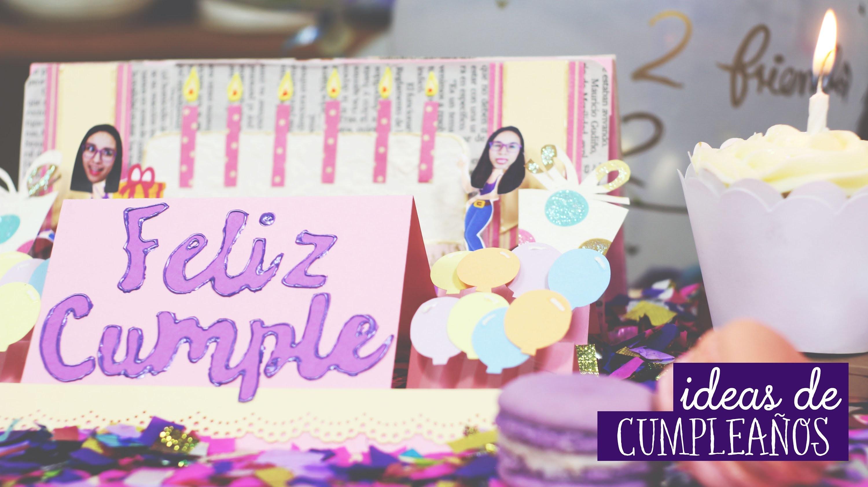 Ideas de cumpleaños: ¿Qué regalar?  ✂️ Craftingeek