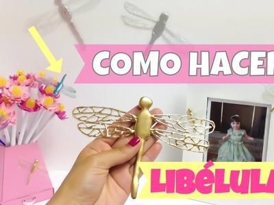 Ideas para decorar\como hacer libélulas