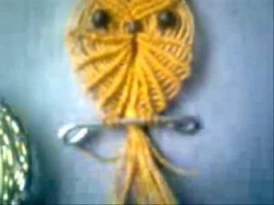 Manillas - Collares En Cobre - Buhos En Macrame _ Handles - Necklaces in Copper - Owls In Macrame