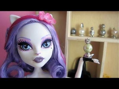 Manualidades para muñecas: Haz perfumes, bandeja para perfume y espejo de mano para muñecas