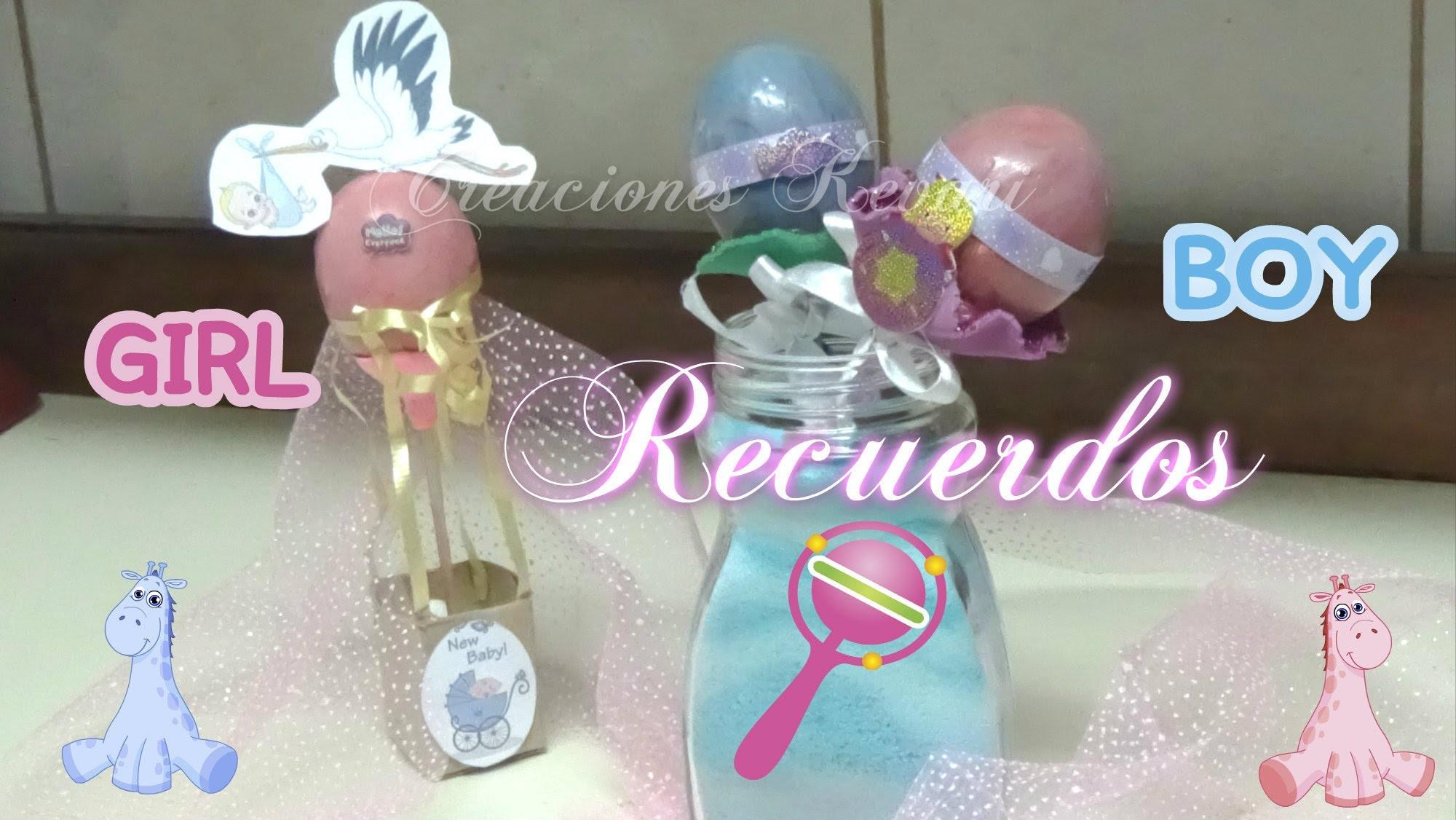 Recuerdos para Baby Shower Globo aerostático con cascaron de huevo y Sonajas.Baby Rattle