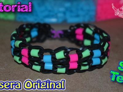 ♥ Tutorial: Pulsera Original (sin telar) ♥