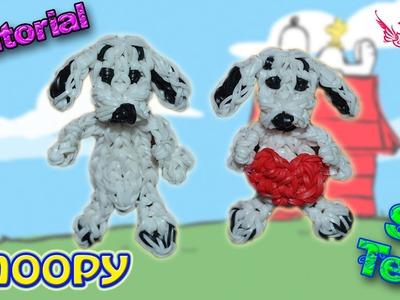 ♥ Tutorial: Snoopy de gomitas (sin telar) ♥