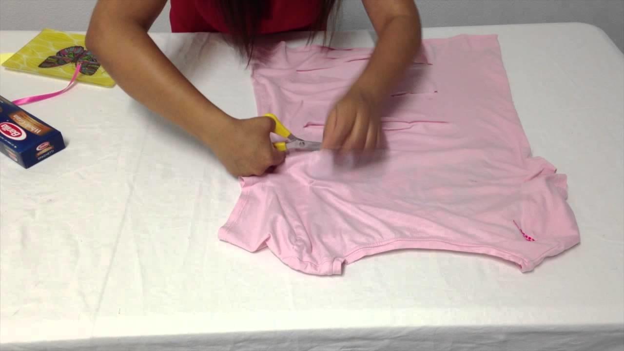 Vero Hoy - Blusa con moños DIY