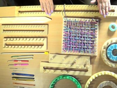 Aprende a tejer divertidas prendas mientras aprendes diferentes tipos de telares