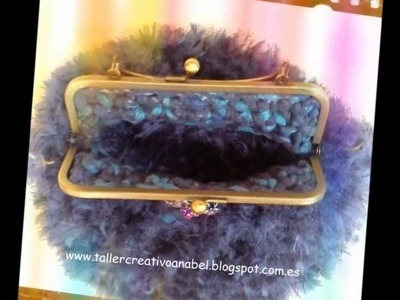 Bolsos retro vintage artesanales hand made, trapillo, crochet y más.