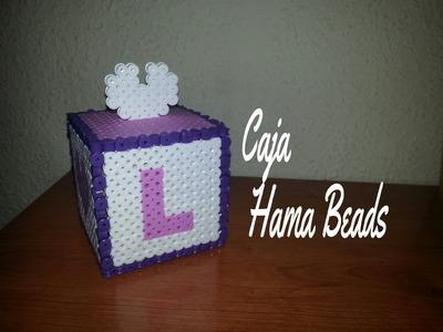 Caja hama bead - Perler Bead