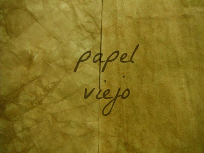 Carta o papel viejo + tip ♥-tutorial