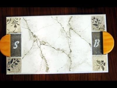 Como hacer Falsos acabados - Imitación Marmol - Lidia Gonzalez Varela - Eterna