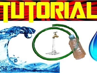 Como Hacer una Maquina para Sacar Agua | Experimentos Caseros