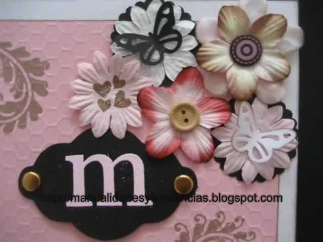 Cómo hacer una tarjeta del día de la madre. How to make a mother's day card