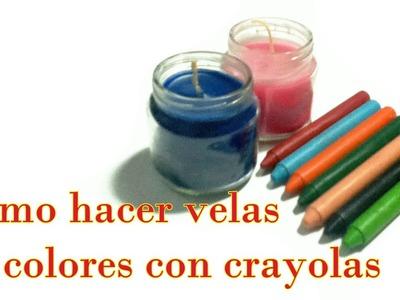 Como hacer Velas de Colores con crayolas