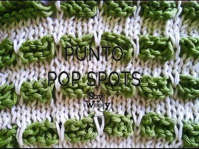Cómo tejer en dos colores: Punto Pop Spots - Soy Woolly