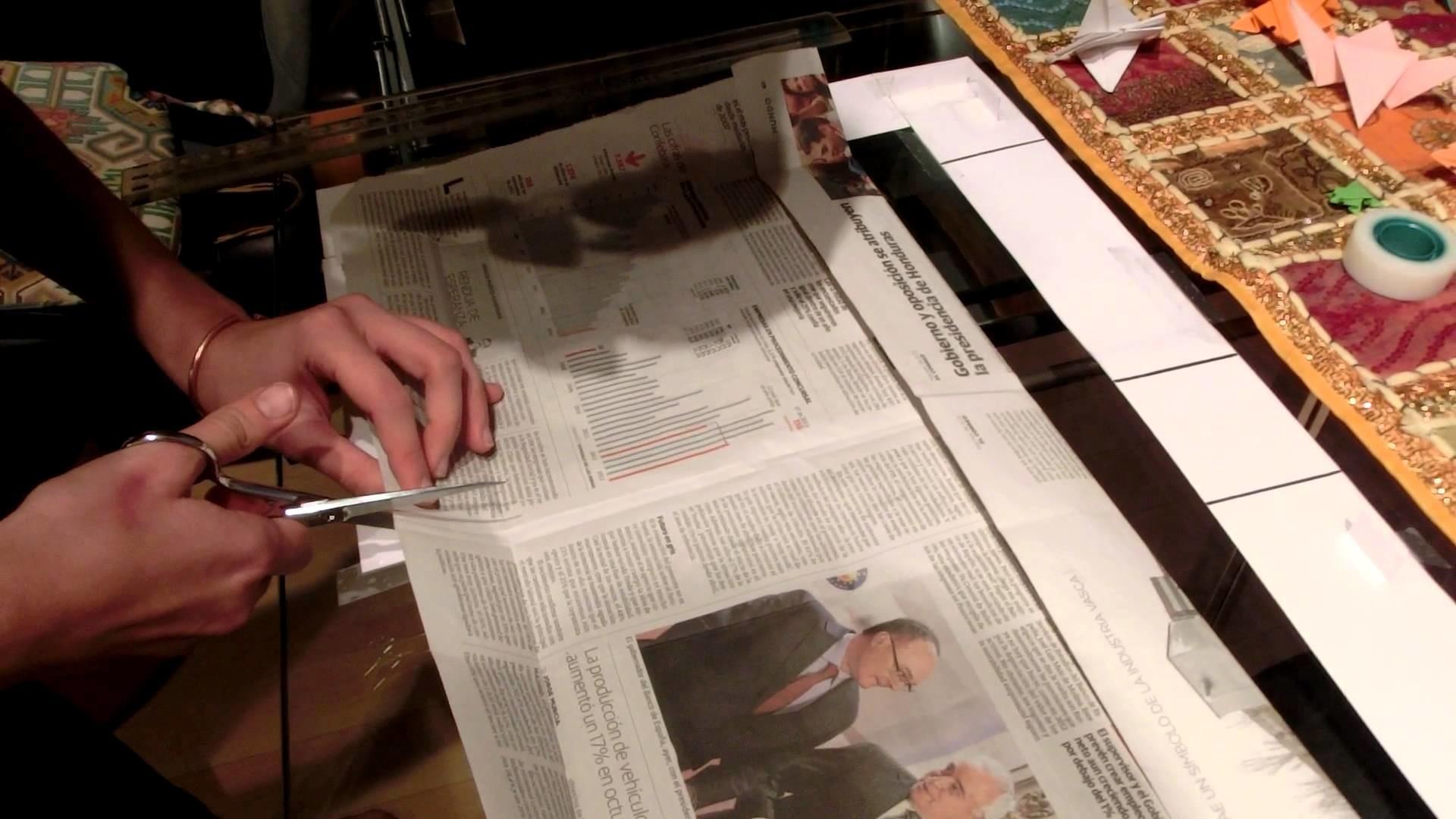 Da Vinci Papelerías - Bolsa de papel de periódico