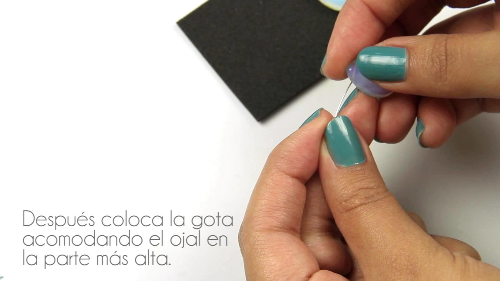 Fashion Topic El Galeón Aretes Gota Opalo