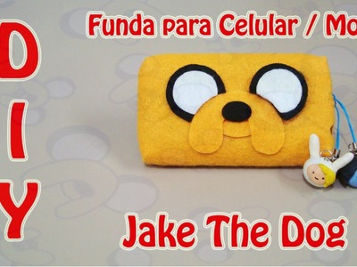 FUNDA PARA CELULAR | JAKE THE DOG. EL PERRO | ADVENTURE TIME | DIY | MANUALIDADES - YuureYCrafts