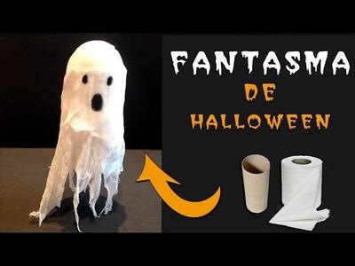 Manualidades para Halloween: Fantasma que levita