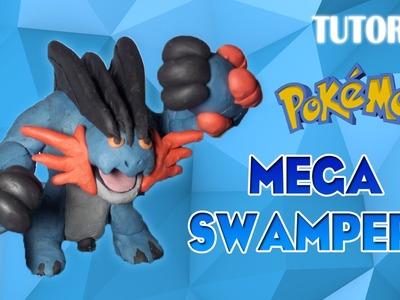 Tutorial Mega Swampert en Plastilina. Pokemon. How to make Mega Swampert with Plasticine
