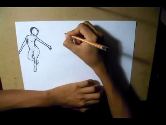 1.DIBUJO DE FIGURA (dibujo gestual)