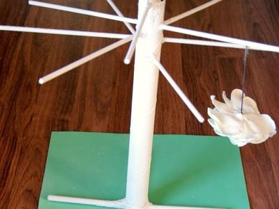 Base para secar las flores de porcelana fria