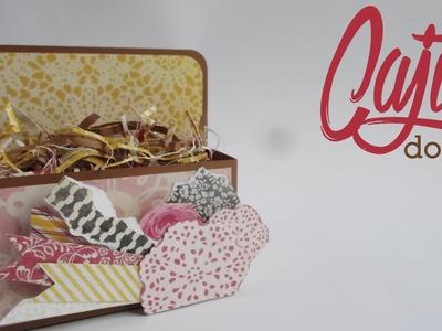 Cajita Doble || Paper Crafting ||