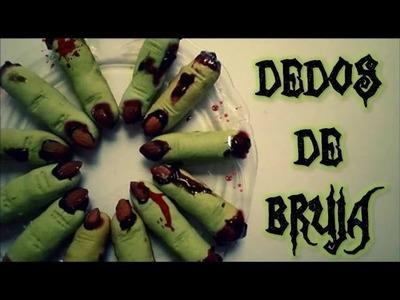 Come Dedos de Bruja en Halloween (galletas) - Blooudland :)