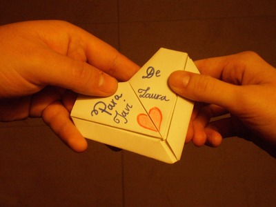 Cómo hacer un Corazón de Papel o Carta Corazón